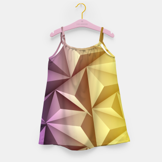 Thumbnail image of 3D Polygonal Design  Mädchenkleid, Live Heroes