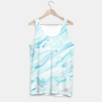 Thumbnail image of Light bluegreen smudge paint Tank Top, Live Heroes
