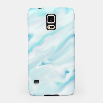 Thumbnail image of Light bluegreen smudge paint Samsung Case, Live Heroes