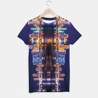 Thumbnail image of Miami Skyline T-shirt, Live Heroes