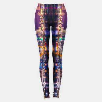 Thumbnail image of Miami Skyline Leggings, Live Heroes