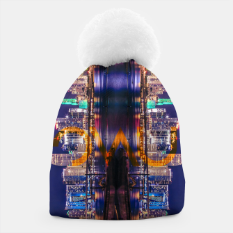 Thumbnail image of Miami Skyline Beanie, Live Heroes
