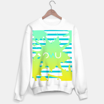 Thumbnail image of Paint Splatter Sweater regular, Live Heroes