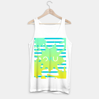 Thumbnail image of Paint Splatter Tank Top regular, Live Heroes