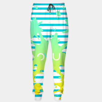 Thumbnail image of Paint Splatter Sweatpants, Live Heroes