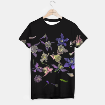 Miniatur  Flower Magic T-shirt, Live Heroes