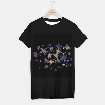 Miniatur  Flower Magic T-shirt regular, Live Heroes