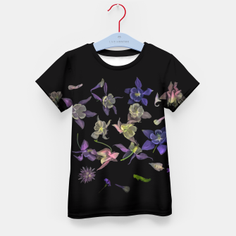 Miniatur  Flower Magic Kid's T-shirt, Live Heroes
