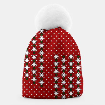 Thumbnail image of Winter Snowflakes Beanie, Live Heroes