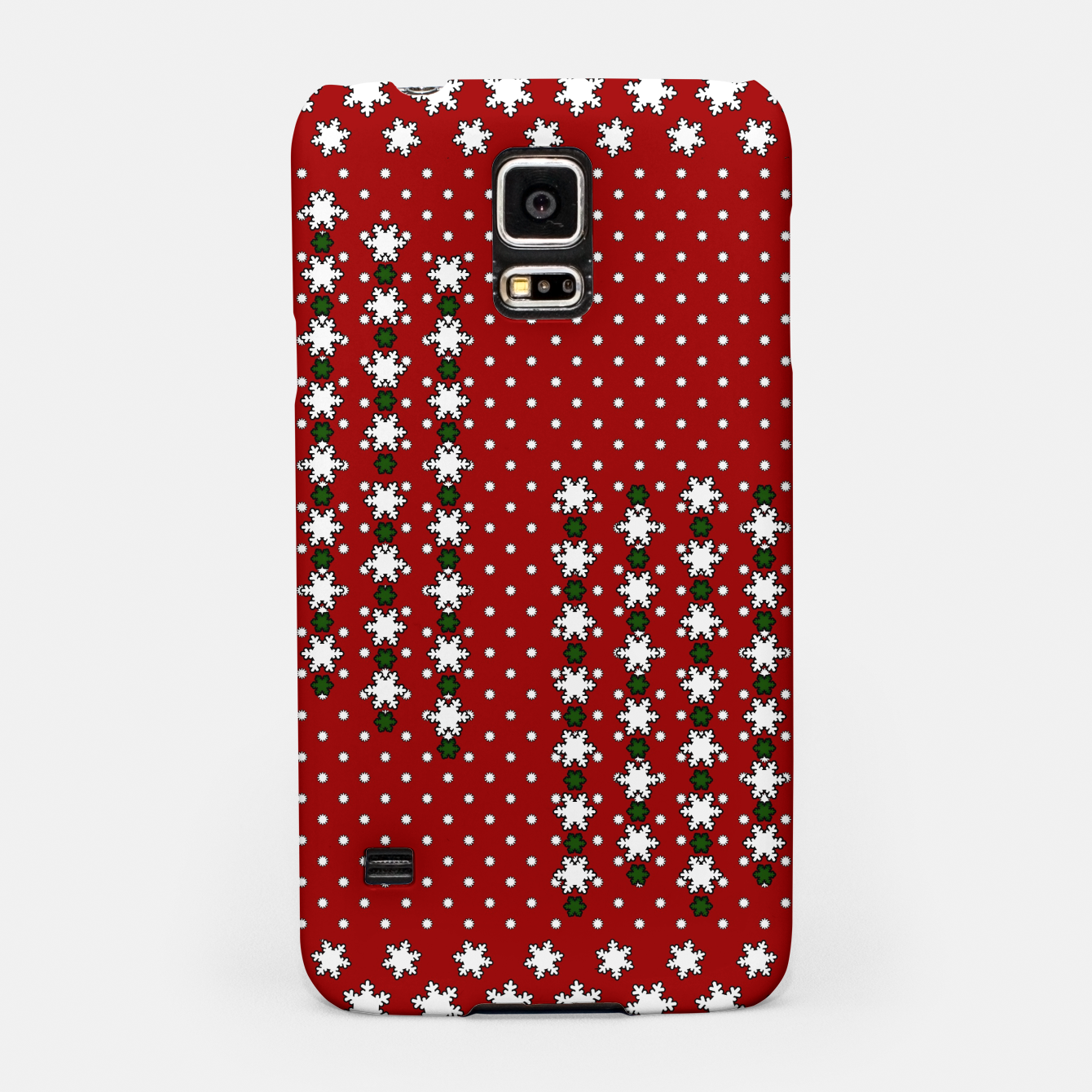 Image of Winter Snowflakes Samsung Case - Live Heroes
