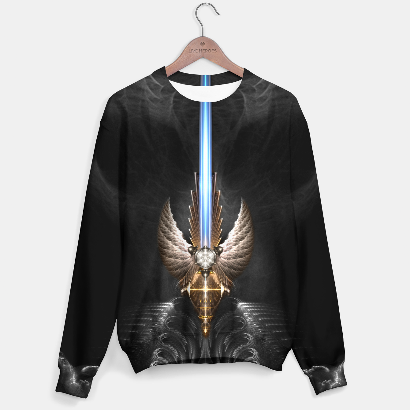 Image of Angel Wing Sword Of Arkledious DGS Sweater - Live Heroes