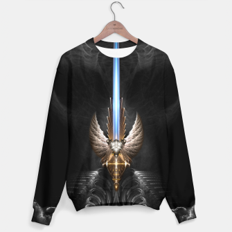 Thumbnail image of Angel Wing Sword Of Arkledious DGS Sweater, Live Heroes