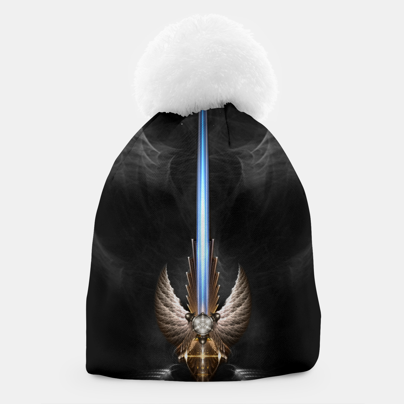Image of Angel Wing Sword Of Arkledious DGS Beanie - Live Heroes