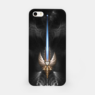 Thumbnail image of Angel Wing Sword Of Arkledious DGS iPhone Case, Live Heroes