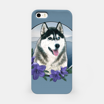 Thumbnail image of Husky Portrait - Graphic Style iPhone-Hülle, Live Heroes
