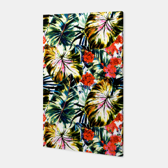Thumbnail image of Tropical abstract foliage Canvas, Live Heroes