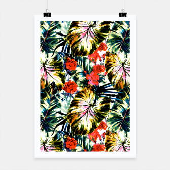 Thumbnail image of Tropical abstract foliage Cartel, Live Heroes
