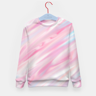 Thumbnail image of Cute pink smudge paint Bluza dziecięca, Live Heroes