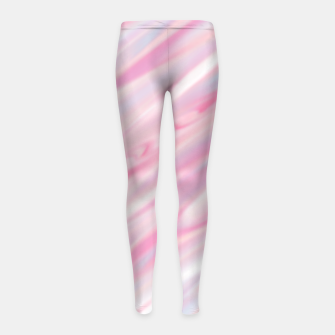 Thumbnail image of Cute pink smudge paint Legginsy dziewczęce, Live Heroes