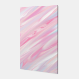 Thumbnail image of Cute pink smudge paint Canvas, Live Heroes