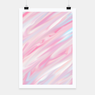 Thumbnail image of Cute pink smudge paint Plakat, Live Heroes