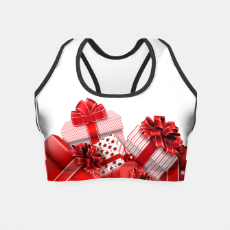 Thumbnail image of Gifts X-mass Crop Top, Live Heroes