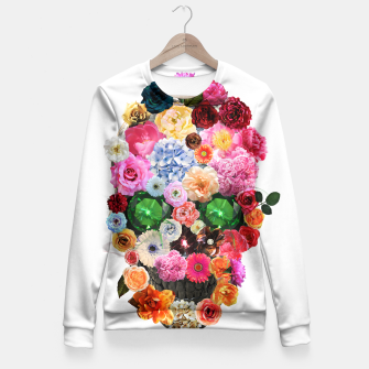 Thumbnail image of Floral Skull Fitted Waist Sweater, Live Heroes