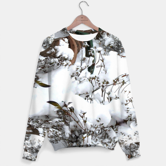 Thumbnail image of Snow Abstract Women's Sweater, Live Heroes