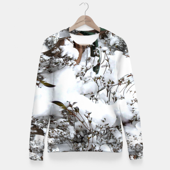 Thumbnail image of Snow Abstract Fitted Waist Sweater, Live Heroes
