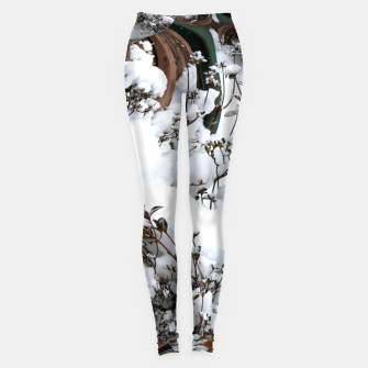 Thumbnail image of Snow Abstract Leggings, Live Heroes