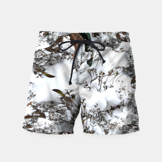 Thumbnail image of Snow Abstract Swim Shorts, Live Heroes