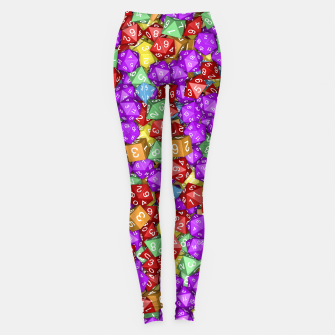 RPG Gamer Dice Leggings thumbnail image
