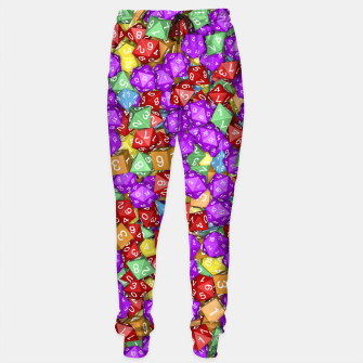 RPG Gamer Dice Sweatpants thumbnail image