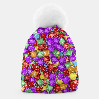 RPG Gamer Dice Beanie thumbnail image
