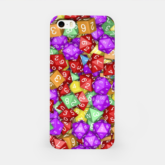 RPG Gamer Dice iPhone Case thumbnail image