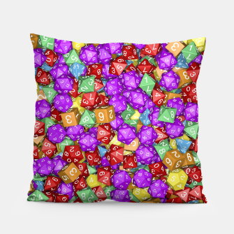 RPG Gamer Dice Pillow thumbnail image