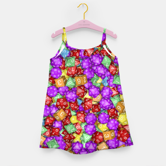 Thumbnail image of RPG Gamer Dice Girl's Dress, Live Heroes