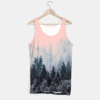 Forest in gray and pink Camiseta de tirantes thumbnail image