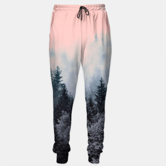 Forest in gray and pink Pantalones de chándal thumbnail image