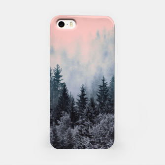 Forest in gray and pink Carcasa por Iphone thumbnail image