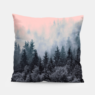 Miniaturka Forest in gray and pink Almohada, Live Heroes