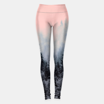 Forest in gray and pink Leggings thumbnail image