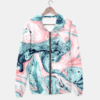 Thumbnail image of  Marbled tide painted blue and pink Sudadera con capucha, Live Heroes