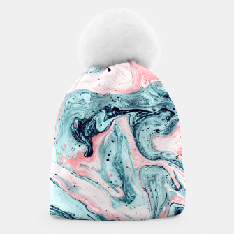 Imagen en miniatura de  Marbled tide painted blue and pink Gorro, Live Heroes