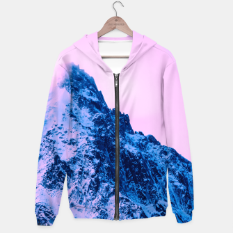 Thumbnail image of winter sunset Sudadera con capucha, Live Heroes