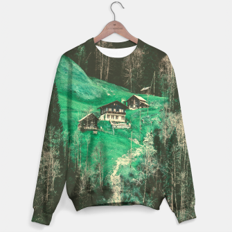 mountain huts Sweater obraz miniatury