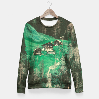 mountain huts Fitted Waist Sweater obraz miniatury