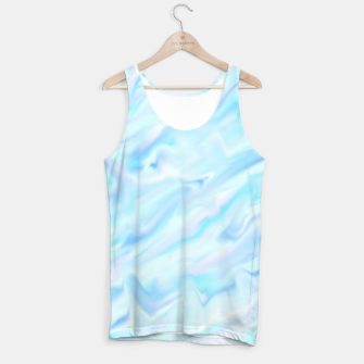 Thumbnail image of Blue paint Tank Top, Live Heroes