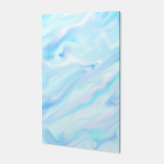 Thumbnail image of Blue paint Canvas, Live Heroes
