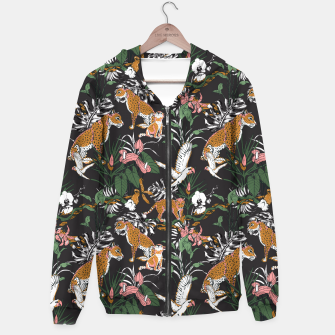 Thumbnail image of Leopards at night Sudadera con capucha, Live Heroes